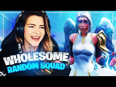 THE MOST WHOLESOME RANDOM SQUAD! (Fortnite: Battle Royale)   KittyPlays