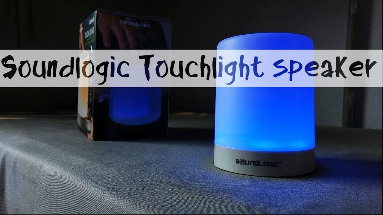 Soundlogic Touchlight Bluetooth Speaker Full Review