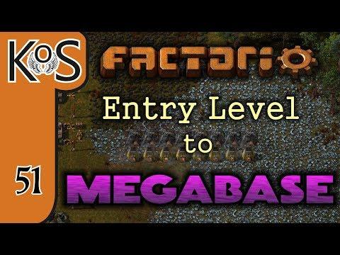 Factorio: Entry Level to Megabase Ep 51: MEGA IRON TRAIN STATION - Tutorial Series Gameplay