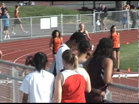 100m Hurdles 2011 North Bay League Champs