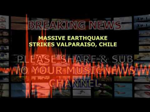 Massive Earthquake Strikes Valparaiso, Chile April 28, 2017