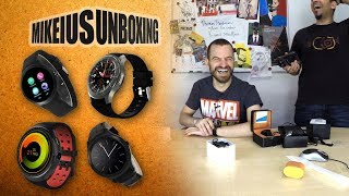 Android Smartwatch Phones - Mikeius Unboxing