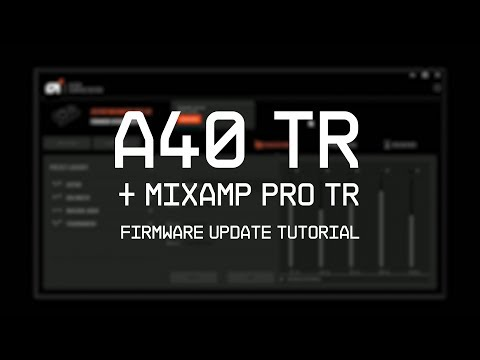 MixAmp Pro TR Gen 4 Firmware Update Guide || ASTRO Gaming