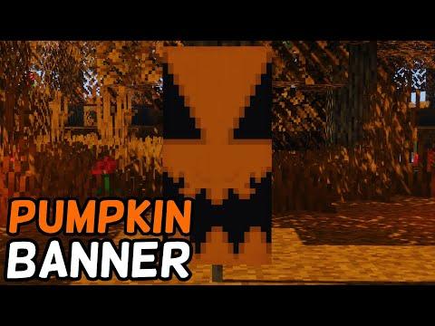 How To Make A Pumpkin Banner In Minecraft! (2019)