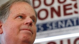 From youtube.com: Doug Jones wins Alabama Senate seat {MID-218385}