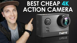 best cheap 4k action camera thieye t5e review