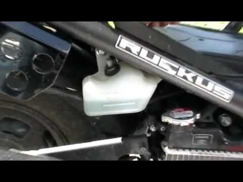 How To Change The Coolant On A Honda Ruckus Scooter Youtube