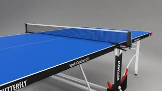 Butterfly Spirit 18 Outdoor Table Tennis table