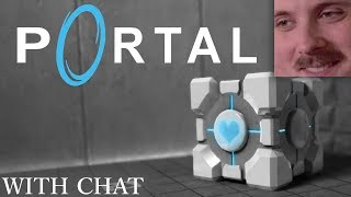 Forsen plays: Portal (with chat)