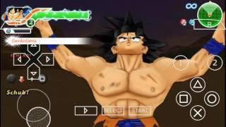 Dragon Ball Z Tenkaichi Tag Team Son Goku VS Vegeta (PPSSPP)