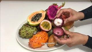 Tropikal Meyveler - Tropical Fruits (En ilginç sıradışı meyveler)
