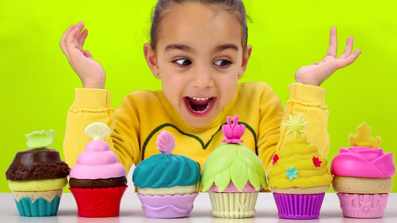 Fiesta de cupcakes princesas disney juego de mesa con for Divertilandia juego de mesa