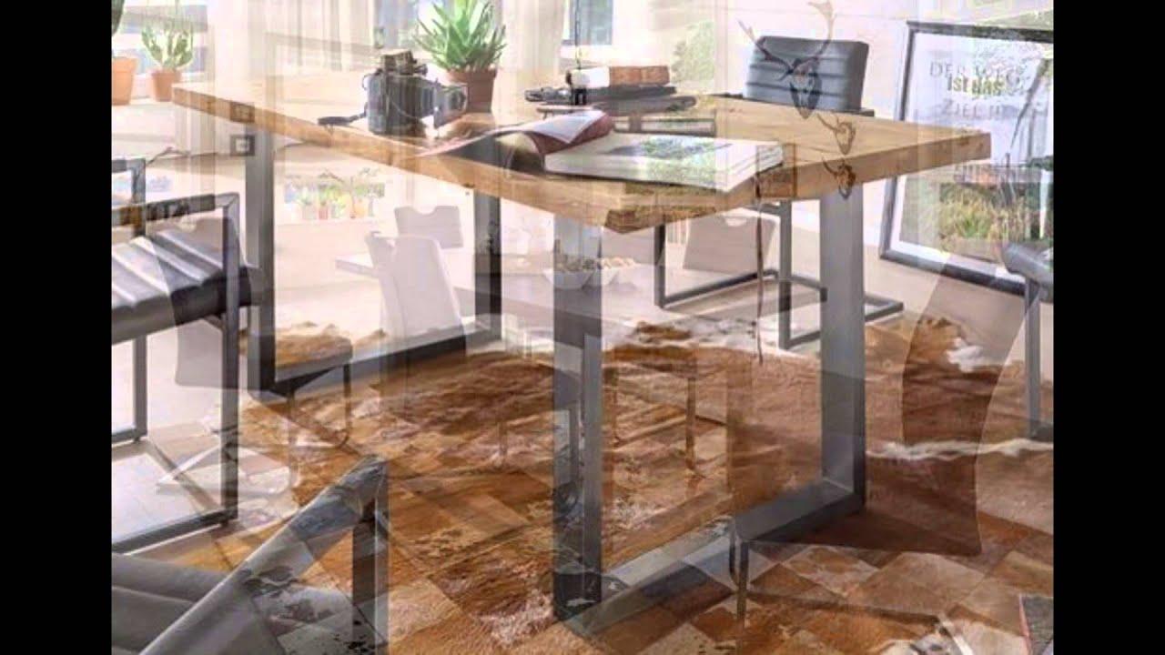 Tisch direkt esszimmer tische k che youtube for Sofa lagerverkauf