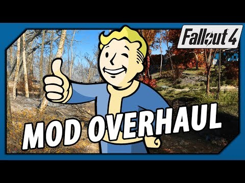 Fallout 4 Mod Overhaul - Visuals, Graphics and Weather (Best in 2018)