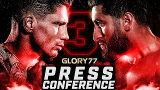 GLORY 77: Rico v Jamal FULL Press Conference