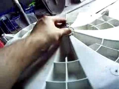 Замена подшипника на стиральной машине хотпоинт аристон своими руками