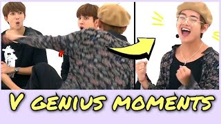 Kim Taehyung genius moments part 2 [BTS]