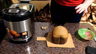 Ржаной хлеб на квасном сусле в хлебопечке