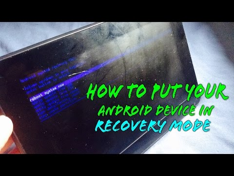 How To Fix Any Android Device That Won't Boot Up.(Android Recovery Mode)