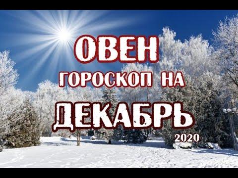 Овен. Гороскоп на декабрь 2020. Таро Магических Собак.