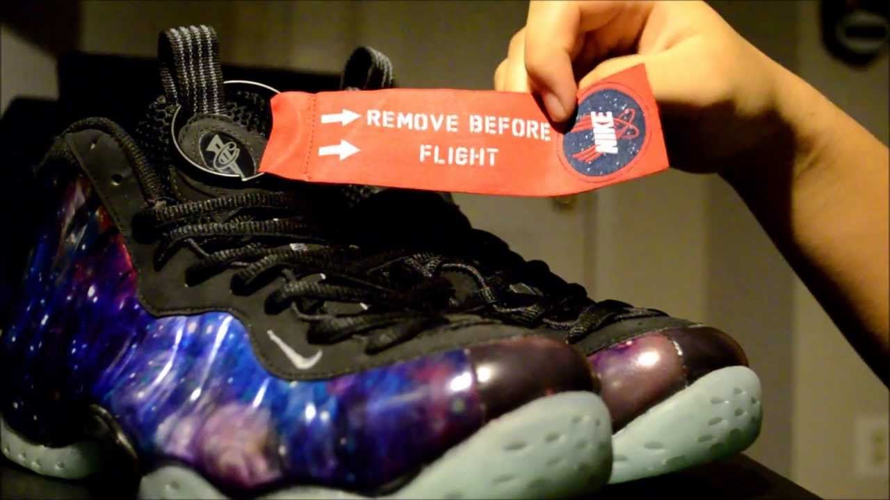 info for d4f23 04b70 Nike Galaxy Foamposite One Review + Glow Test - YouTube