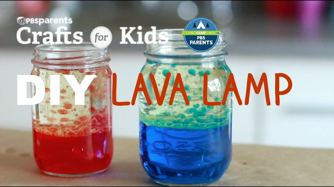 Diy Lava Lamp Crafts For Kids Pbs Parents Youtube