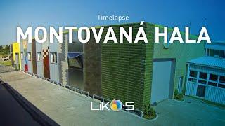 Výstavba nízkoenergetické haly Kovovýroby LIKO-S, Slavkov u Brna