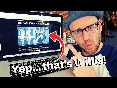 The Gary Willis Online Masterclass (EPIC TRAILER ALERT)