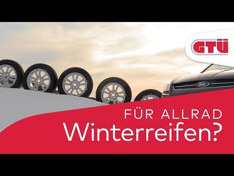 GTÜ: Gute Winterreifen sind auch bei Allradantrieb unabdingbar