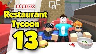 RESTAURANT TYCOON #13 - KIDS MEALS UPDATE (Roblox Restaurant Tycoon)