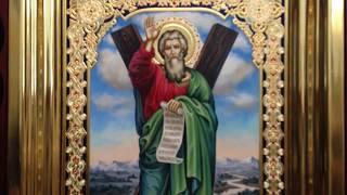 Сумская Икона Апостол Андрей Первозванный Обзор Готовой Работы Написаной в Иконописной Мастерской