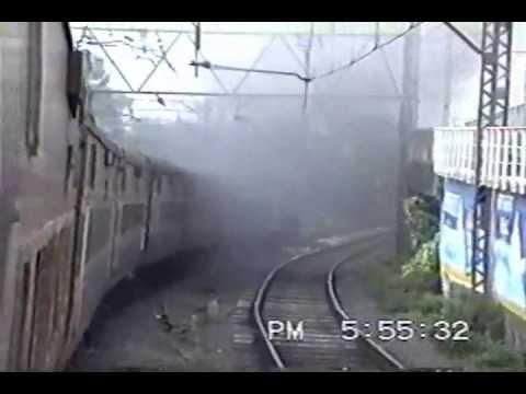 Diesel-hauled August Kranti Rajdhani : Through the Bombay Suburbs (Aug. 1995)