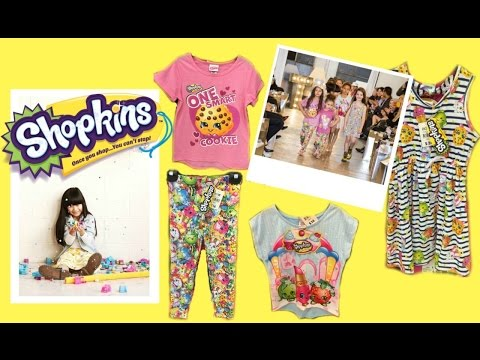 Shopkins Apparel Line As Seen From The Little Runway Now Available At Big W
