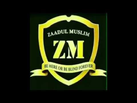 Zaadul Muslim - Shalawat Waddi'u Yaa Shoimina