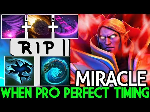 Miracle- [Invoker] When Pro Perfect Timing 100% Auto Kill Weaver 7.21 Dota 2 thumbnail