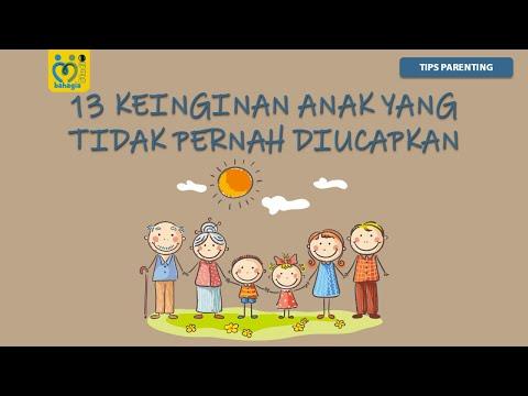 13 Keinginan Anak Yang Tidak Pernah Diucapkan (Video Inspirasi Anak Kecil)