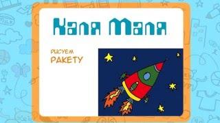 Как нарисовать ракету.Видео урок рисования для детей 3-5 лет.Рисуем ракету.Каля Маля
