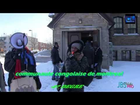 LES CONGOLAIS DE MONTREAL CANADA REPONDENT MASSIVEMENT A L' APPEL LAICS  DU 31DEC 2017