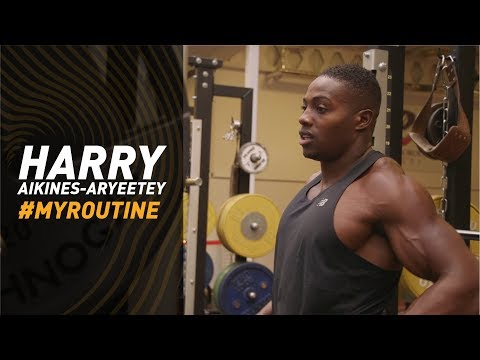 #MyRoutine Harry AA sprinter's gym workout