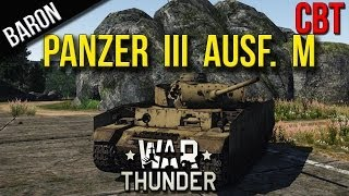 War Thunder Ground Forces - Panzer III Ausf. M - War Thunder Tanks