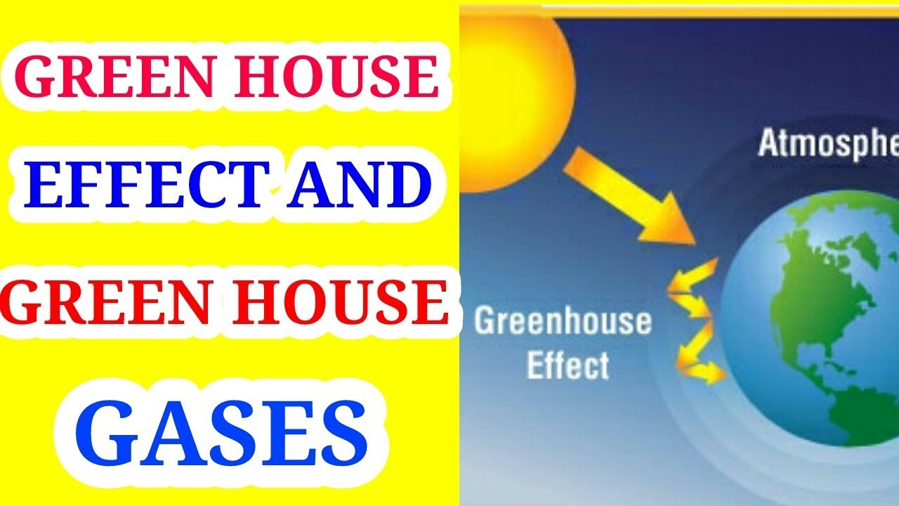 Greenhouse Effect And Greenhouse Gases In Hindi Youtube
