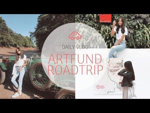 5 STUDENTS, 5 DAYS, 5 LOCATIONS | ARTFUND ROADTRIP VLOG