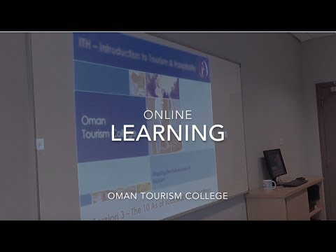 Online Learning at Oman Tourism College