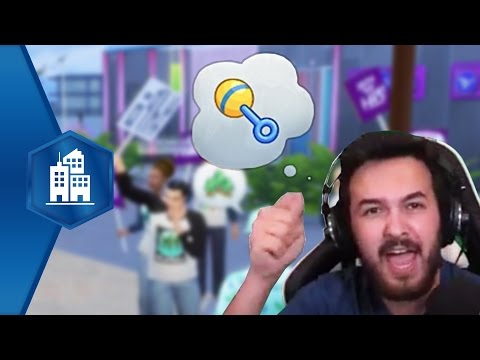 Live Stream - The Sims 4 City Living First Look!