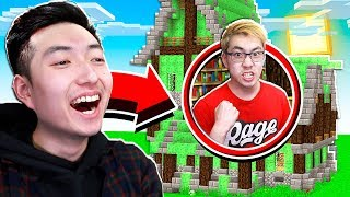 5 WAYS TO PRANK YOUR LITTLE BROTHER'S MINECRAFT HOUSE! *FUNNY*