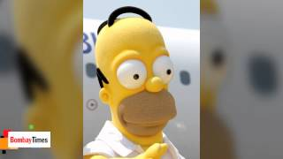 Homer And Peter Battle, Bart And Stewie Bond In Simpsons-Family - TOI