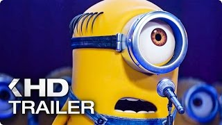 DESPICABLE ME 3 NEW Minions Clip & Trailer (2017)