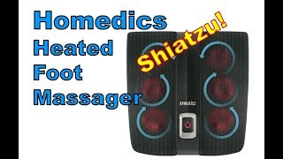 Homedics Shiatzu Heated Foot Massager (review)