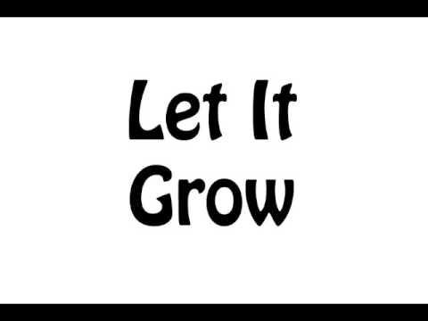 Let It Grow (Instrumental Track) - Melinda Meginness