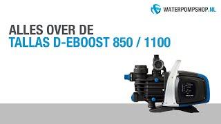 Tallas D-EBOOST 850 / 1100 Hydrofoorpakket